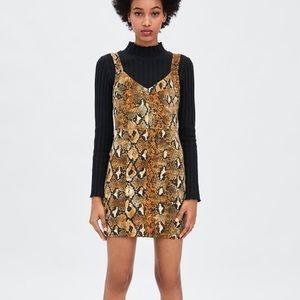 Snake Skin Prints Dress